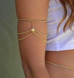 Grace Bijoux Amelia Arm Cuff