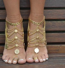 Grace Bijoux Nishka Anklet