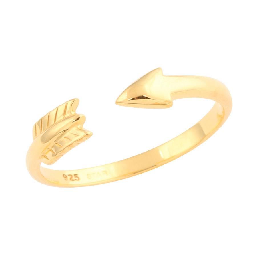 Midsummer Star Arrow Ring Gold