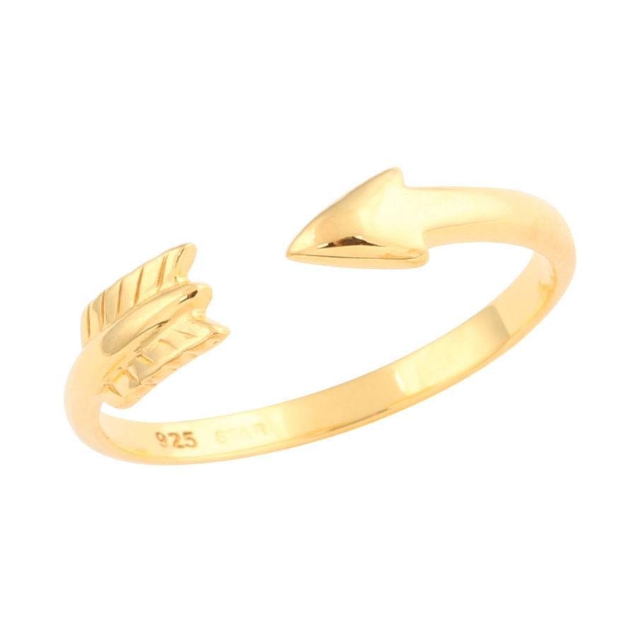 Midsummer Star Arrow Ring Goud