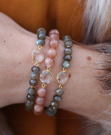 Boho Babes Bezel Armband