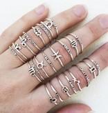 Midsummer Star Pisces Ring