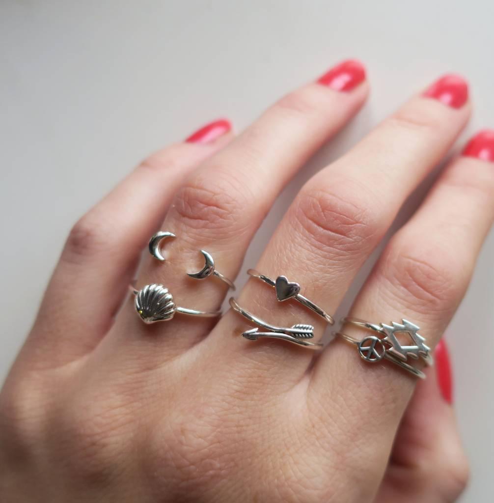 Midsummer Star Arrow Wrap Ring