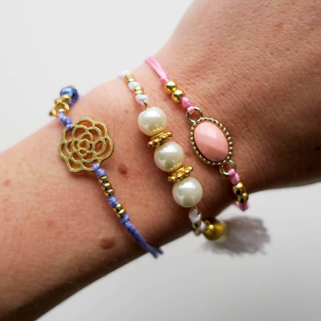 Boho Babes Roos armband