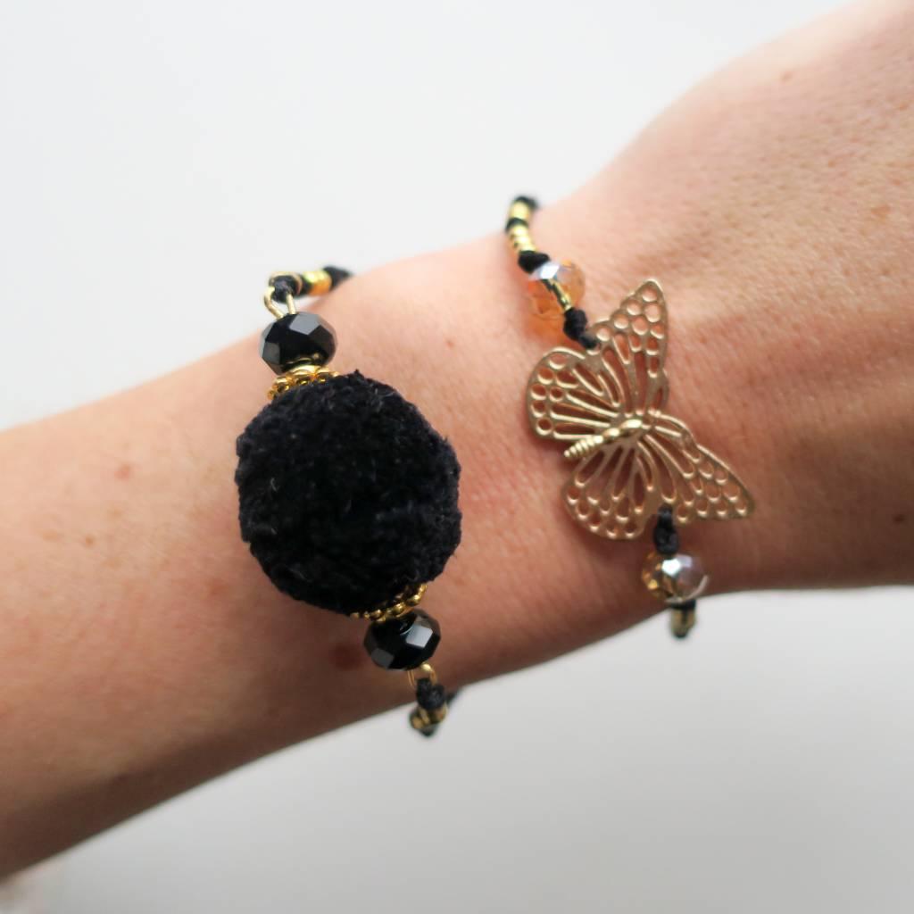 Boho Babes Pom pom bracelet