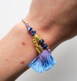 Boho Babes Tassel armband