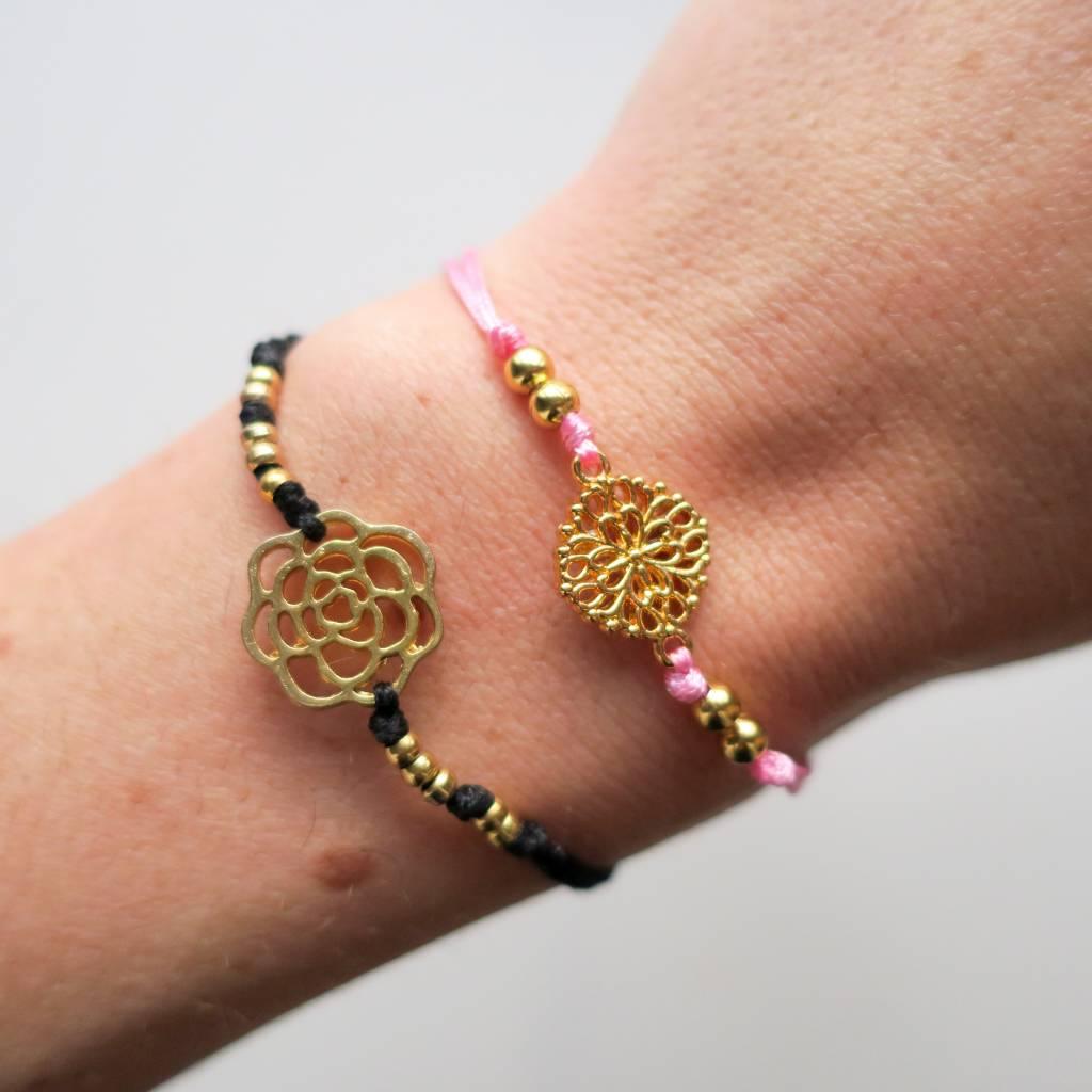 Boho Babes Rose bracelet