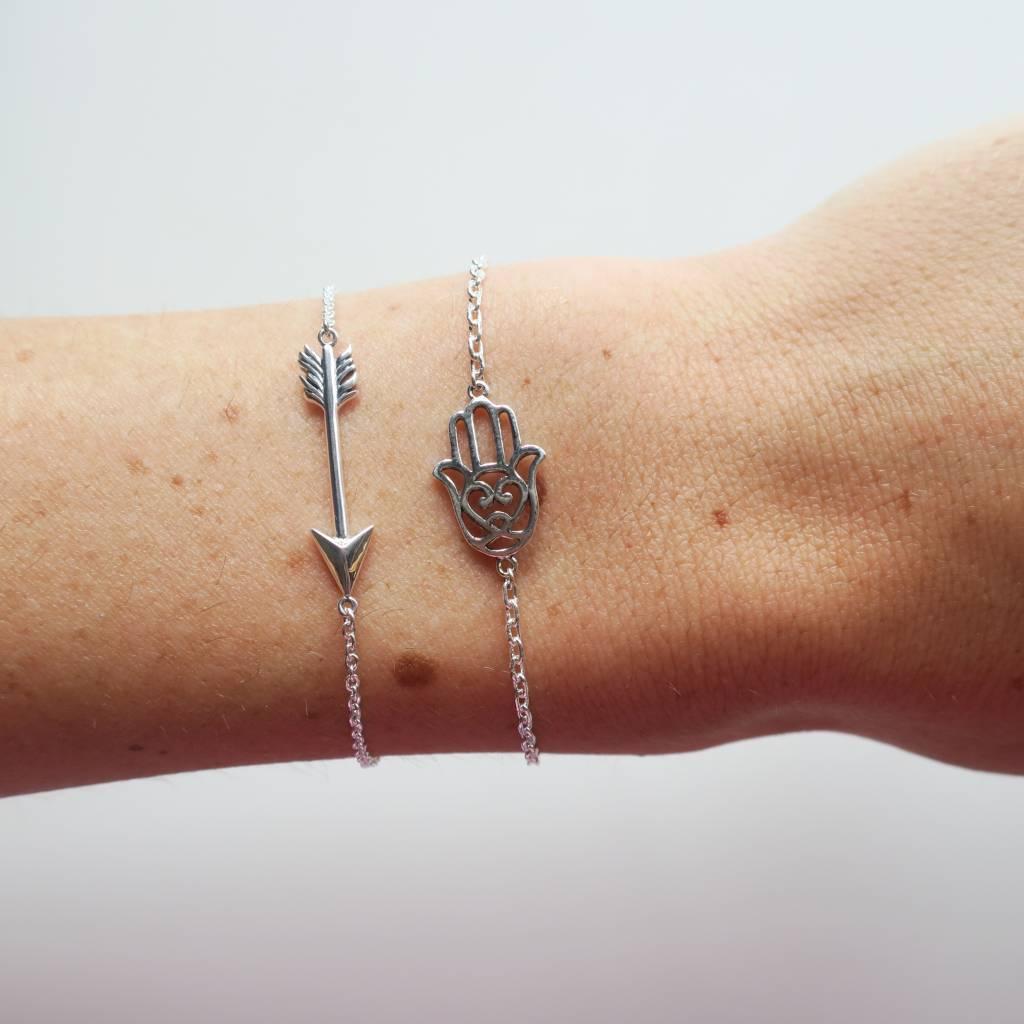 Midsummer Star Hamsa Armband