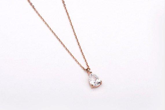 Lunai Raindrop necklace