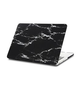 Macbook Case Black marble