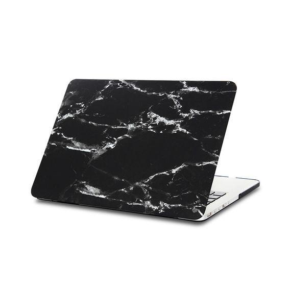 Macbook cover marble black