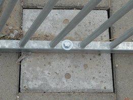 Betonpoer 30x30 cm