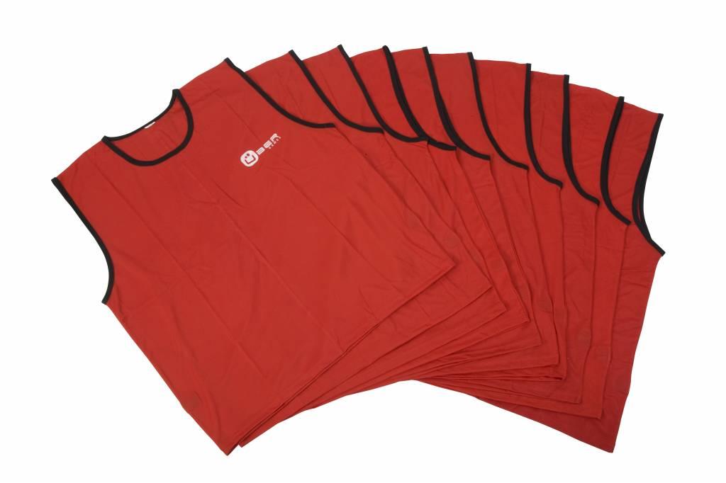 Ubergames Trainingshesjes mannen (rood)