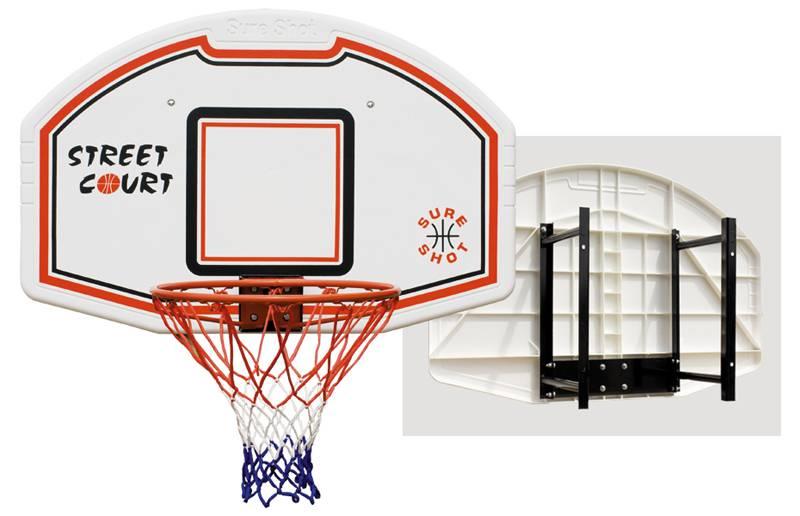 SureShot Basketbalbord Bronx (flexibele ring)