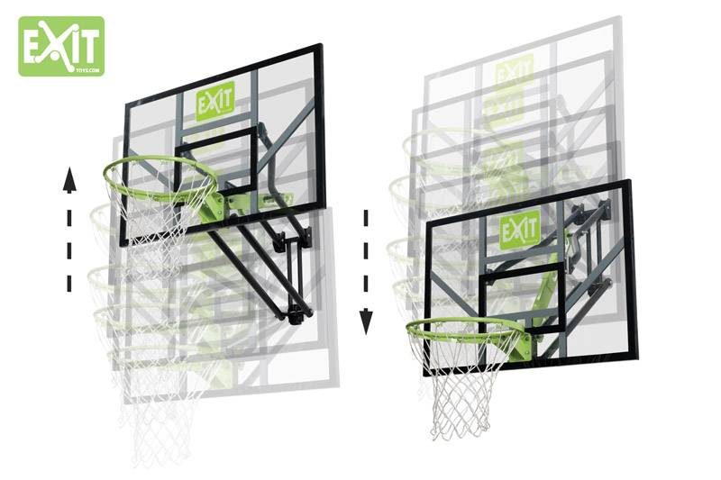 Exit Toys Basketbal Systeem Galaxy (vaste ring)