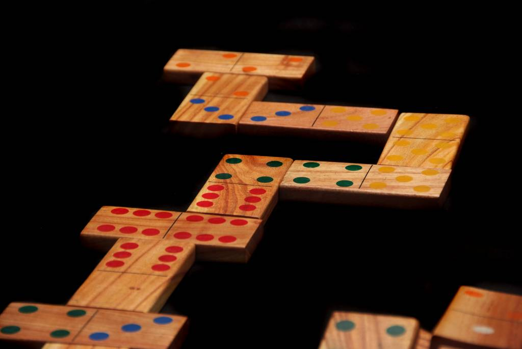 Ubergames Domino Spel (hout)