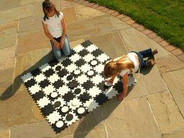 Traditional Garden Games Dambord (groot)