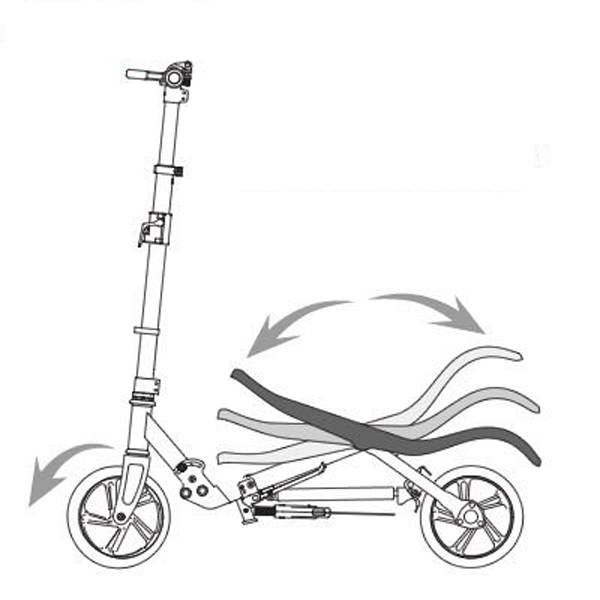 Space Scooter (oranje-brons)