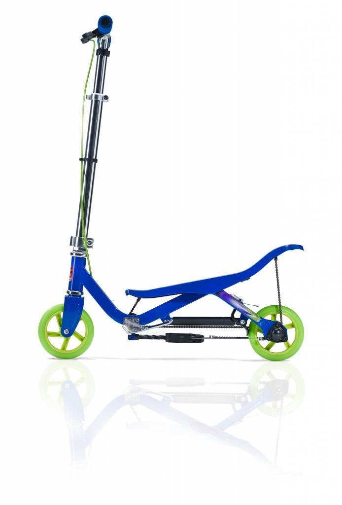 Space Scooter Junior (blauw)