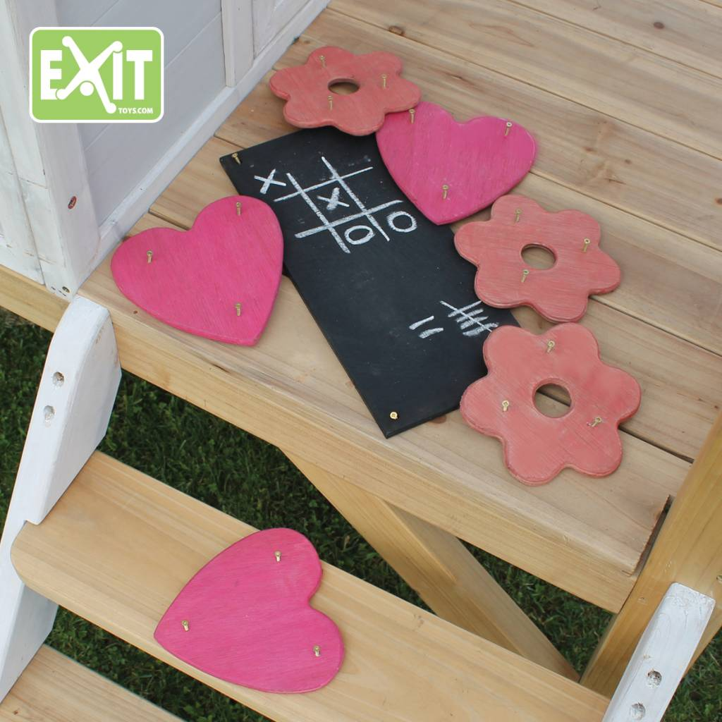 Exit Toys Decoratie set speelhuisje (meisjes)