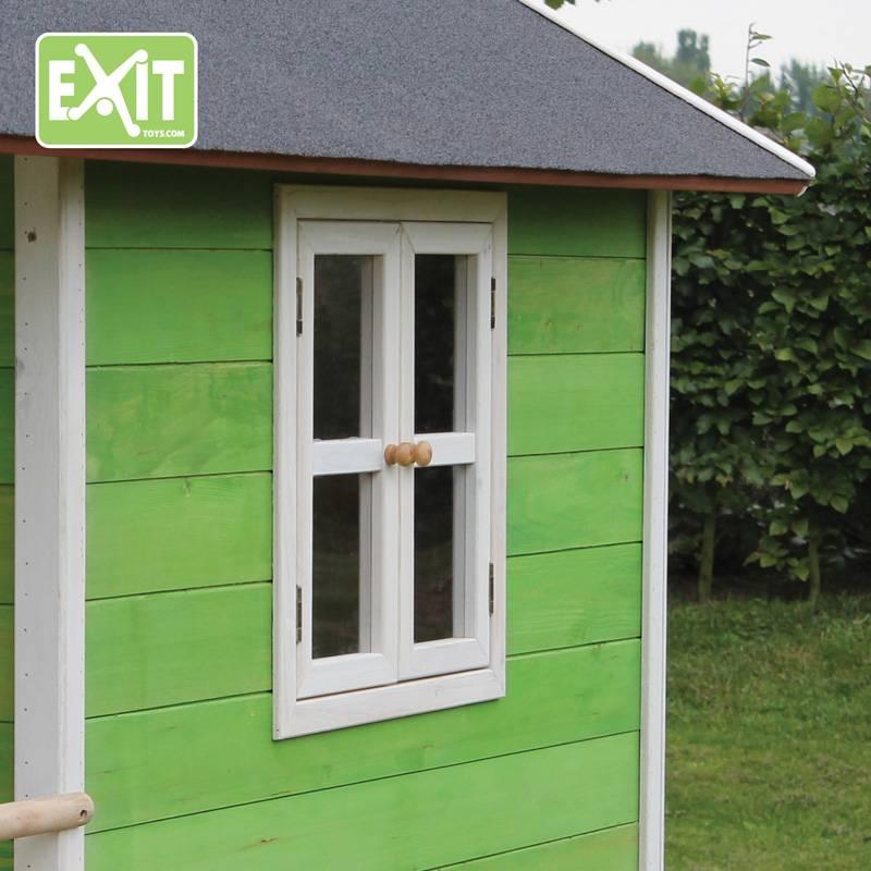 Exit Toys Speelhuisje Loft 100 (groen)