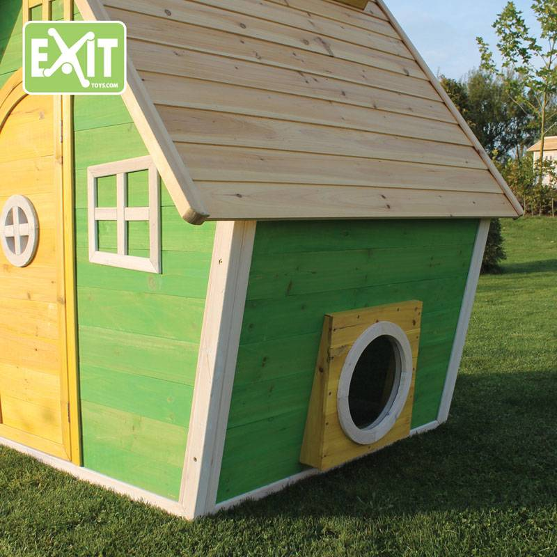 Exit Toys Speelhuisje Fantasia 100 (groen)