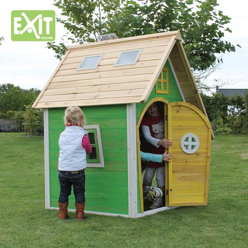Exit Toys Speelhuisje Fantasia 100 (rood)