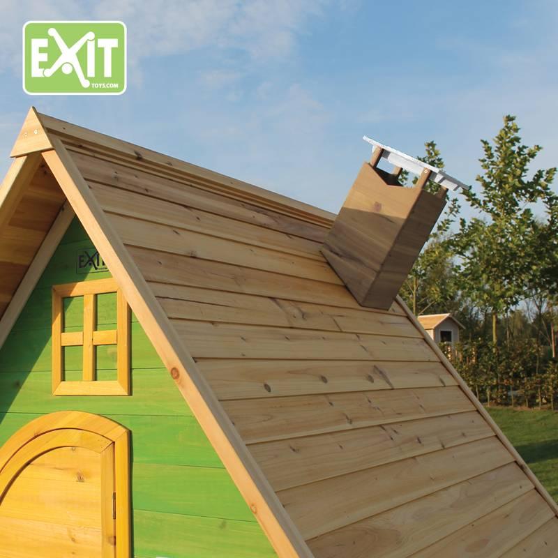 Exit Toys Speelhuisje Fantasia 300 (rood)