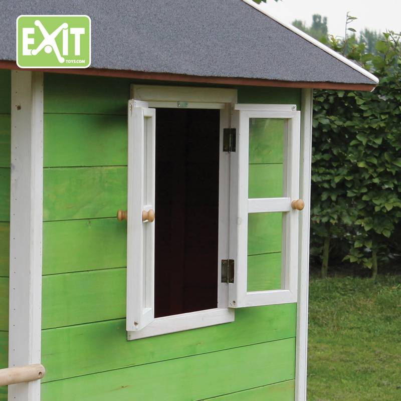 Exit Toys Speelhuisje Loft 300 (groen)