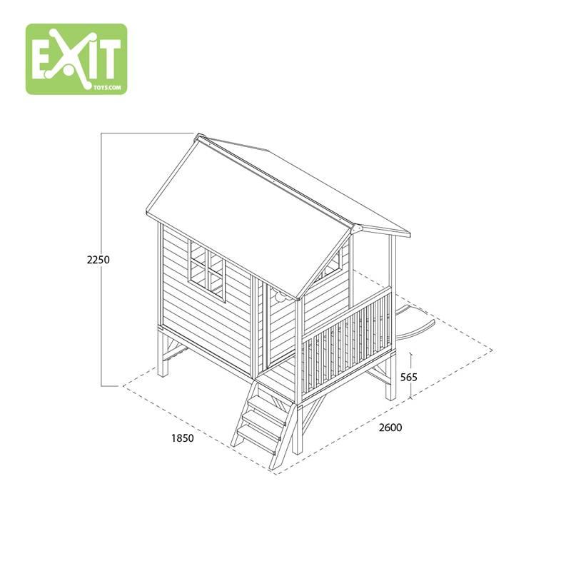 Exit Toys Speelhuisje Loft 300