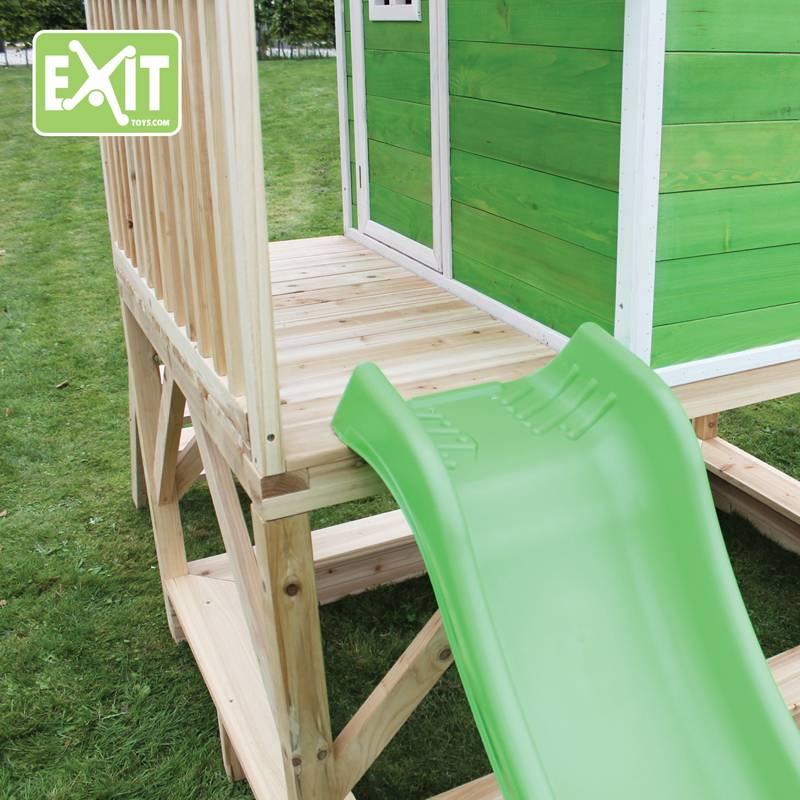 Exit Toys Speelhuisje Loft 500 (groen)