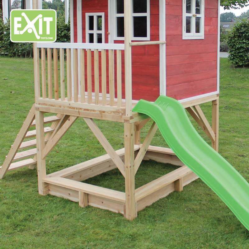 Exit Toys Speelhuisje Loft 500 (rood)