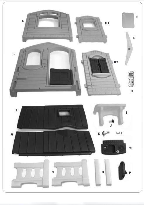 Step2 Speelhuisje met Veranda