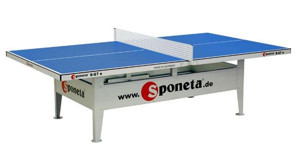 Sponeta Activeline Tafeltennistafel (blauw)