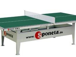 Sponeta Activeline Tafeltennistafel (groen)