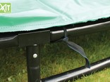 Exit Toys Trampoline Interra 244x427 (grijs)