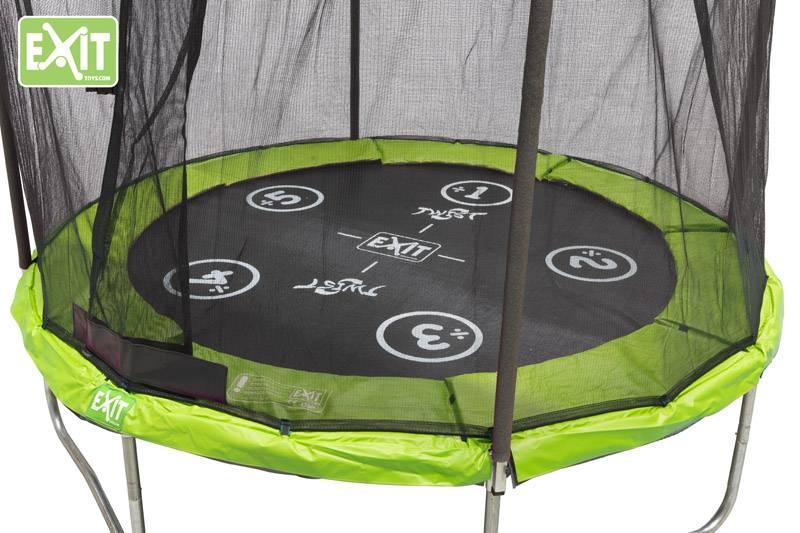 Exit Toys Trampoline Twist 08 ft (groen/grijs)