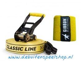Gibbon Slackline Classic 15 meter + Treewear