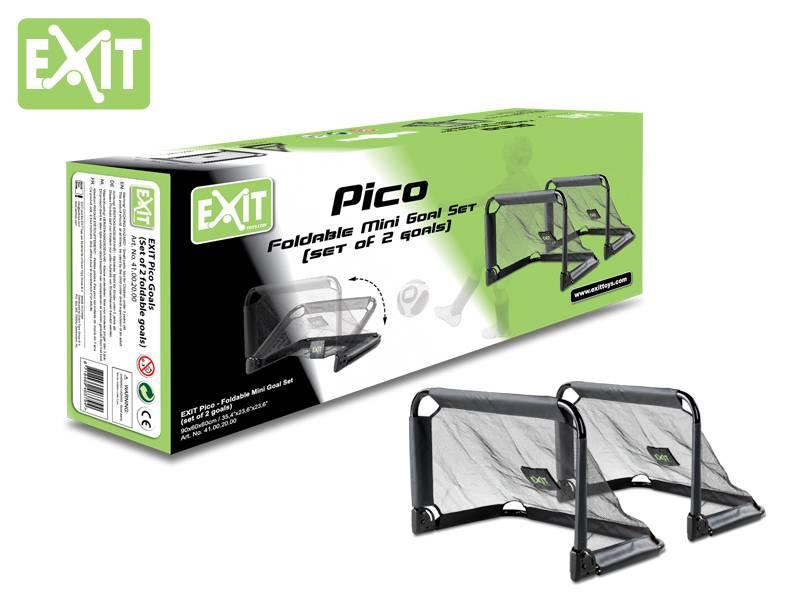 Exit Toys Voetbaldoeltjes Set Pico
