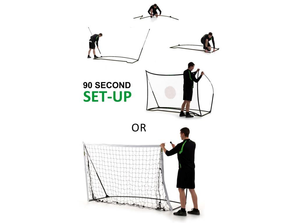 Quickplay Voetbaldoel Kickster 245x150