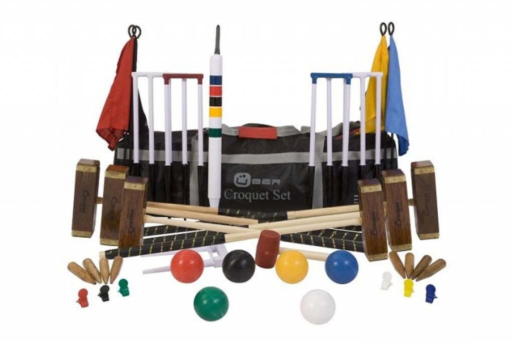 Ubergames Croquet Set Championship (6 personen)