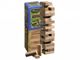 Philos Spiele Vallende Toren (Jenga) Bamboe