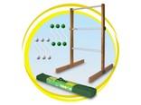 LadderGolf.com Laddergolf Wit & Groen