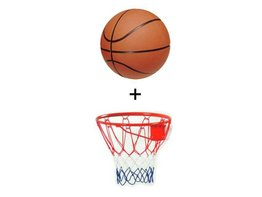 Angel Sports Basketbalring Massief + Basketbal