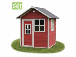 Exit Toys Speelhuisje Loft 100 (rood)