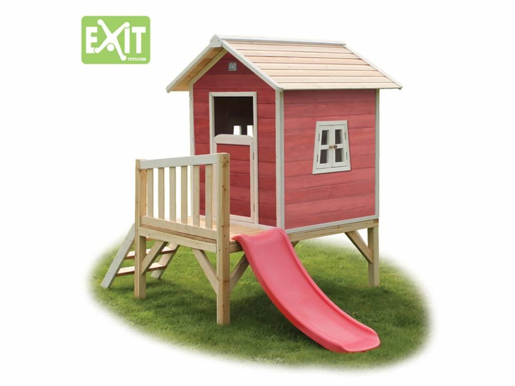 Exit Toys Speelhuisje Beach 300 (rood)