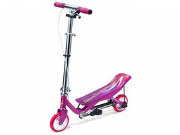 Space Scooter Junior (roze)