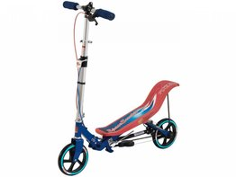 Space Scooter (rood-blauw)