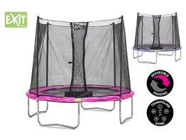 Exit Toys Trampoline Twist 08 ft (roze/grijs)