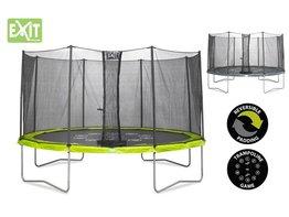 Exit Toys Trampoline Twist 12 ft (groen/grijs)